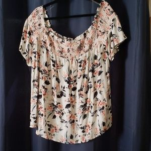 New with tags, Size 1 off shoulder Maurices top